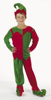 Fun Express Child Elf Costume by Fun Express