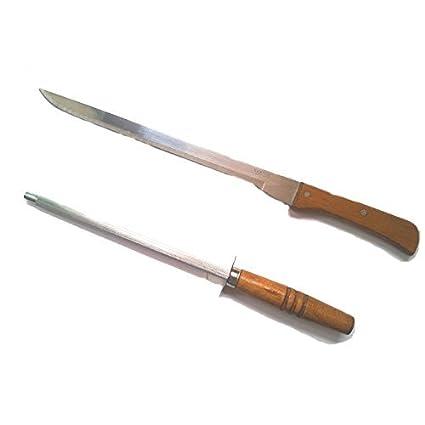 Compra CUPERINOX Cuchillo Jamonero Afilado a Mano 25 cm y ...