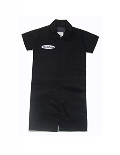 Knuckleheads - Infant and Baby Boy Grease Monkey Coveralls Black 2T - Grease Costumes Ideas