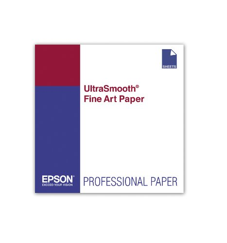 Epson UltraSmooth Fine Art Paper, 17 x 22 Inch, 25 sheets ()