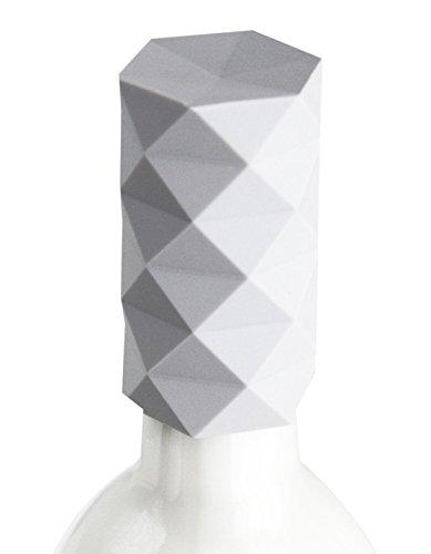 GIR: Get It Right GIRCK3112SWT Low-Profile Bottle Stopper, Fractal Tower, Studio White
