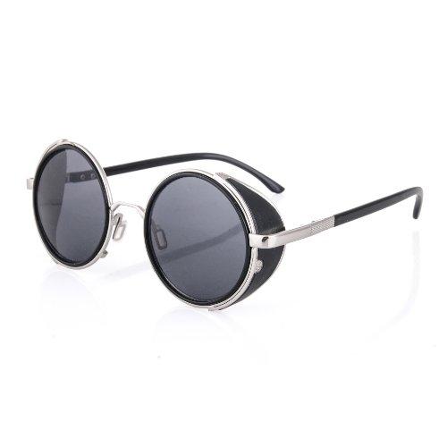 Dos sol Geek de unisex 1980 moda gafas de cl zqrOfz