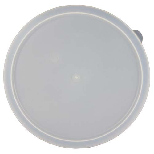Value Series H3421200-CR Food Storage Container Lid - Round, For 12 Qt. Capacity