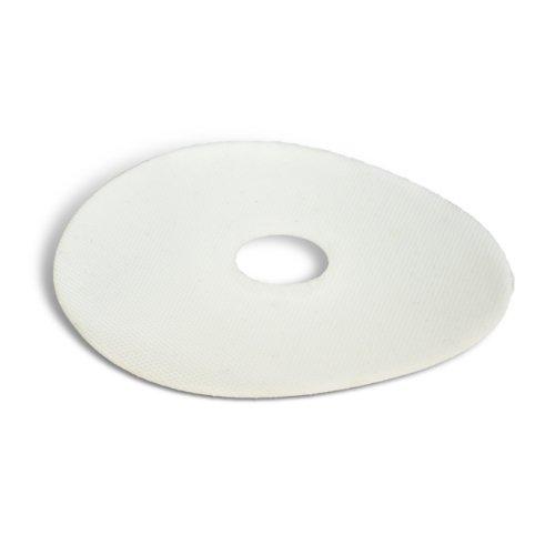 "UPC 051125644372, 3M Trizact 5"" x 1"" Hookit 568XA White Film Cerium Oxide Disc"