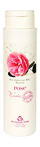 (Rose Water - 100% Organic Natural Facial Toner (No added alcohol, chemicals or fragrances) from Rose Valley, Bulgaria - Steam distilled from Rosa Damascena - 8.5)