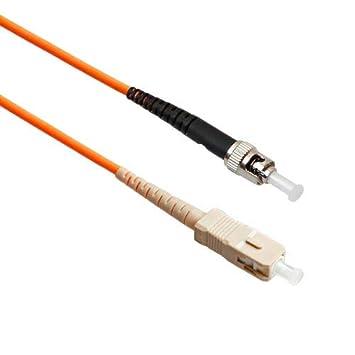 Amazon.com: FiberTool Simplex MM SC to ST - Cable de ...