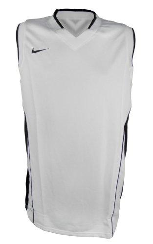 Nike Men's Slam || Tank Sleeveless Basketball Dry-Fit T-shirt 3XL White-Black