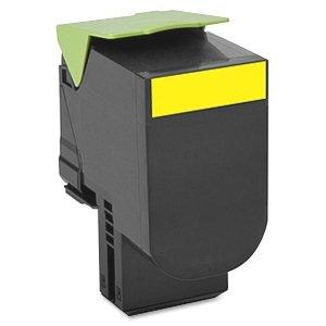 Lexmark 70C0H40 Yellow High Yield Toner by Lexmark
