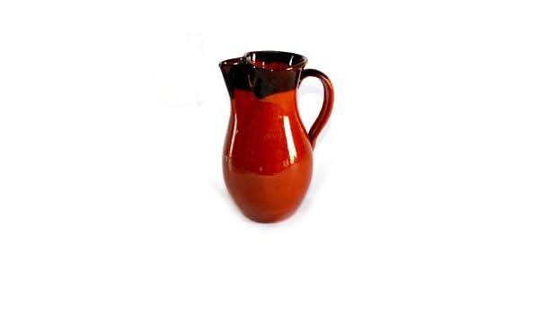 Terri Aires - Jarra, Gerres, Jarra de cerámica bicolor - 1,5 litro: Amazon.es: Hogar