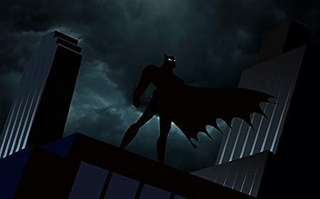 Batman The Animated Series (22x14 inch, 56x35 cm) Silk ...