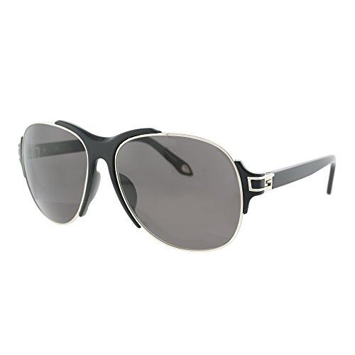 Givenchy Sunglasses SGVA14M 579X Palladium/Striped Green - Sunglasses Aviator Givenchy