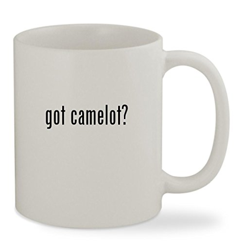 got camelot? - 11oz White Sturdy Ceramic Coffee Cup Mug