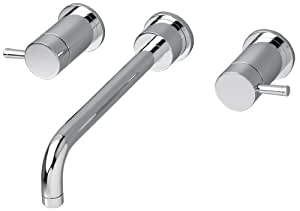 American Standard 2064.451.002 Serin Double-Handle In-Wall Mount Lavatory Faucet, Chrome