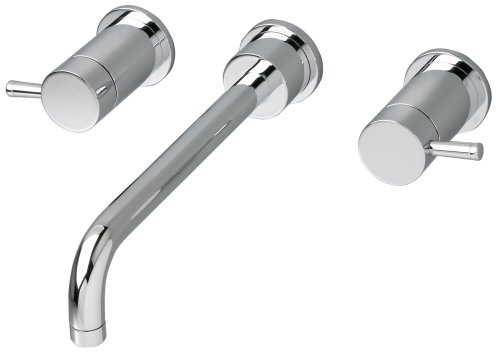 American Standard 2064.451.002 Serin Double-Handle In-Wall Mount Lavatory Faucet, Chrome ()