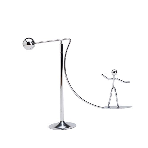 THY COLLECTIBLES Kinetic Art Balance Toy - Physics Dynamic Motion Balancing desk Toy Home Office Decoration Surfing