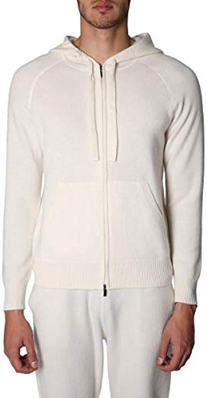 Z ZEGNA Luxury Fashion męski sweter VRW10ZZ478N01 biały | outlet na porę roku, kolor: biały , rozmiar: s: Z ZEGNA: Odzież