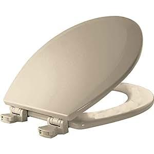Bemis 500ec146 Molded Wood Round Toilet Seat With Easy