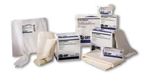 Exu-Dry 4 x 6 Slit Tube Dressing, Full Absorbency, Case of 100
