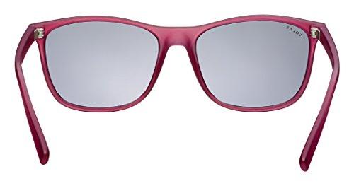 Occhiali RoseTranslucide Mode Sole da Donna Moda Donna Solar fx6Z1