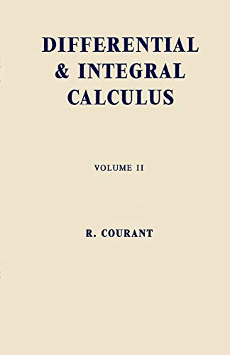 Differential and Integral Calculus, Vol. 2