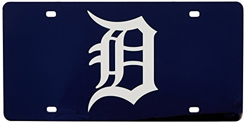 MLB Detroit Tigers Laser-Cut Auto Tag