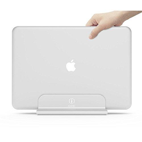 iQunix Edin for Macbook Pro/Air ,Vertical Desktop Aluminium Adjustable Stand