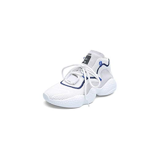 Gris Zapatos Comfort Blanco Nappa Mujer de Spring White amp; ZHZNVX Sneakers Creepers Leather Summer Negro wT1BTq