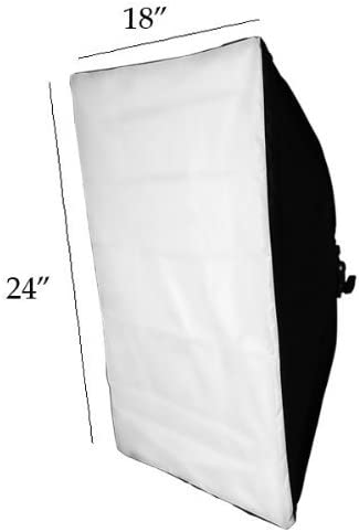 AGG823 LimoStudio Photography Studio 24 x 18 Softbox Lighting Reflector with Flash Strobe Speed Ring