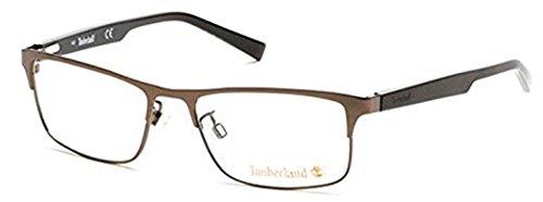 Timberland Eyeglasses TB1547 049 Matte Dark Brown 53MM