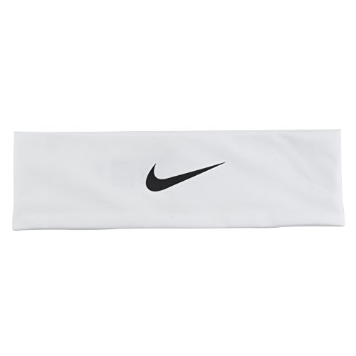 Nike Fury Headband 2.0 (OSFM,White/Black) by Nike (Image #6)