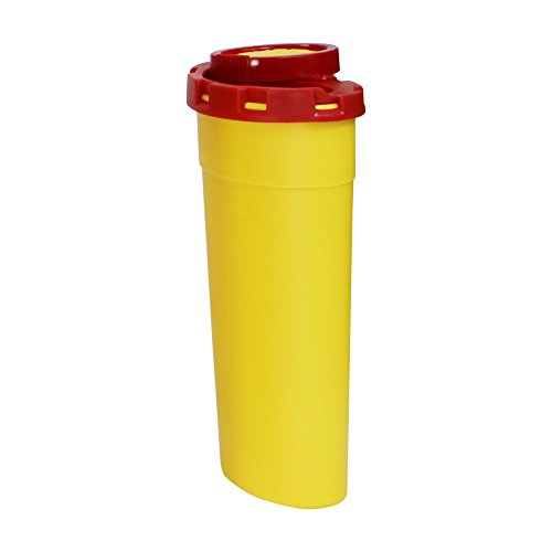 Abwurfbehälter für Kanülen und Spritzen in 5 Größen, Fassungsvermögen:200 ml