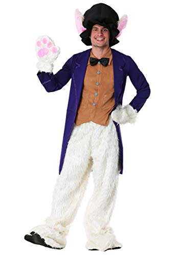 Fun Costumes Adult White Faux Fur Rabbit Costume Standard]()