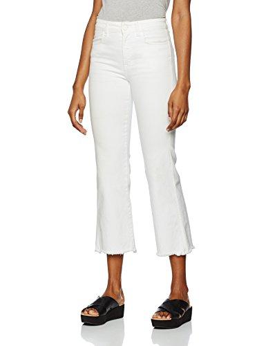 K Lily Jeans Deni Filippa white Donna Bianco Cropped 8zHO4wq