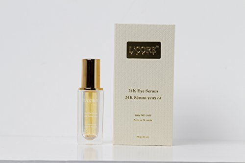 L'core Paris 24K Eye Serum - 0.85oz/25ml - Multi Use Eye Serum, Anti Aging, Remove Dark Circles, Wrinkles, Fine Lines, Puffiness Infused with Pure Gold & Vitamin A, C, E, Instant, Absorbs fast, Light (Multi Solution Revitalizing Cream)