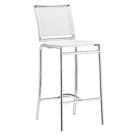 Amazon.com: Zuo Soar silla de bar: Kitchen & Dining