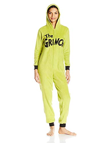 Dr. Seuss The Grinch Union Suit, XX-Large (JRS 19), Green, Size XX-Large -