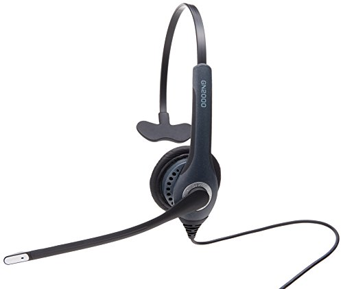 Jabra GN2000 USB Mono UC Corded Headset for Softphone -