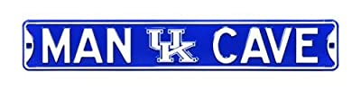 "Kentucky Wildcats ""MAN CAVE"" Authentic Street Sign"