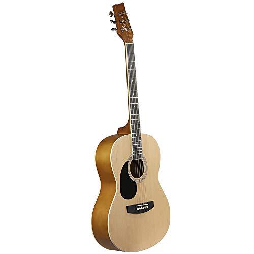 (Kona Guitars K391L 39-Inch Left Handed Acoustic Guitar, Natural)