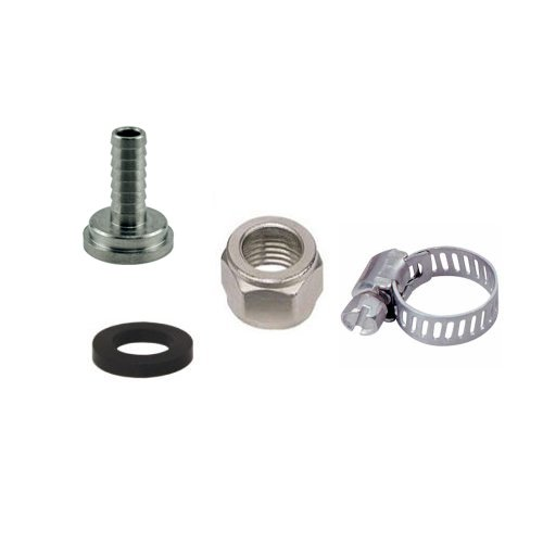Bev Rite CPCCM181SS Connector Kit For Beer Line, Stainless Steel Contact (304 Grade)