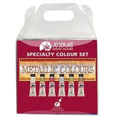 Jo Sonja Metallic Colors Set of Six 20ml Tubes