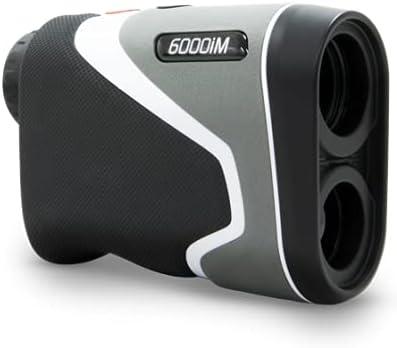 MGI Sureshot Pinloc 6000IM Golf Laser Rangefinder, Black-Grey-White