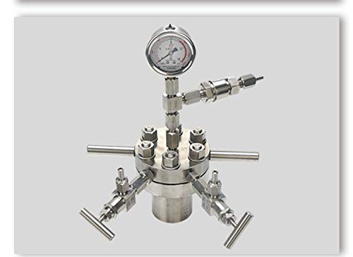 BAOSHISHAN 500ml Hydrothermal Synthesis Autoclave Reactor 16Mpa 300C with 316 Stainless Steel Lining Customized (500ml) by BAOSHISHAN (Image #4)