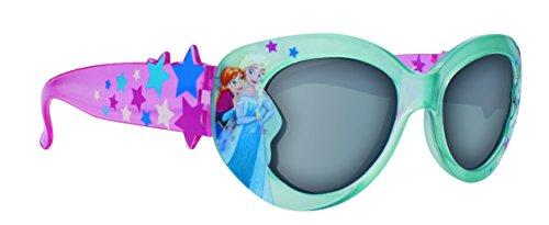 Lunettes de soleil en plastique bleu Disney Frozen Girl