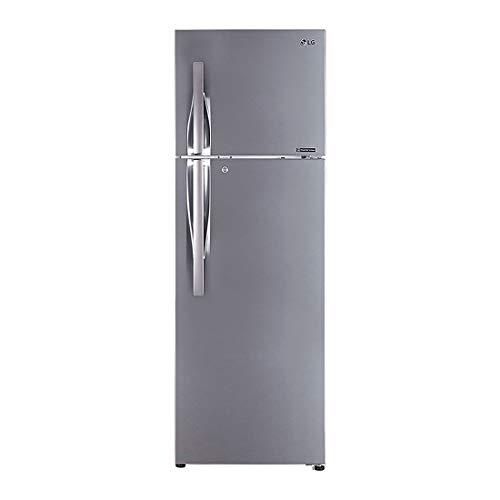 LG 360 L 2 Star Inverter Frost-Free Refrigerator (GL-I402RPZY, Shiny Steel)