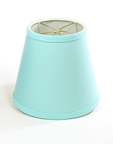 - 5x8x7 Empire Linen Edison Clip On Lampshade Island Paradise By Home Concept - Perfect for small table lamps, desk lamps, and accent lights -Small, Island Paradise