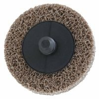 Deburring/Finishing Button Mount Wheel Type LLL 2A, 2X1/4, Med, Aluminum Oxide (3 Pack)