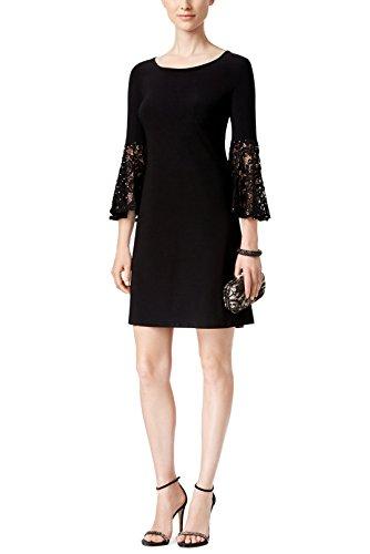 R&M Richards Lace Bell Sleeved Sheath Dress 6