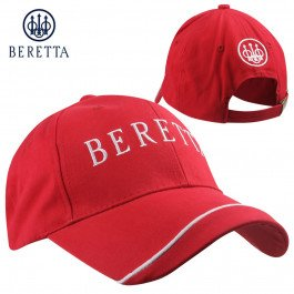 Cap Beretta (Beretta Men's Team Cap, Red, One Size)