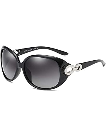c4caf910fb DUCO Shades Classic Oversized Polarised Sunglasses for Women and Ladies  100% UV Protection 1220